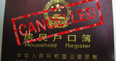 China to Forcibly Cancel Household Registration of Chinese Holding Foreign Residence Permits