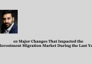 10 Major Changes That Impacted the Investment Migration Market During the Last Year
