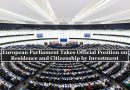 """Eur. Parliament: Member States Can Have R/CBI-Programs, But Commission is """"Monitoring"""""""
